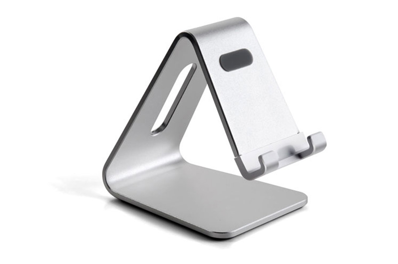Silver Aluminum Lazy Bracket Stand For iPhone iPad Mini Air Pro IPS05_3