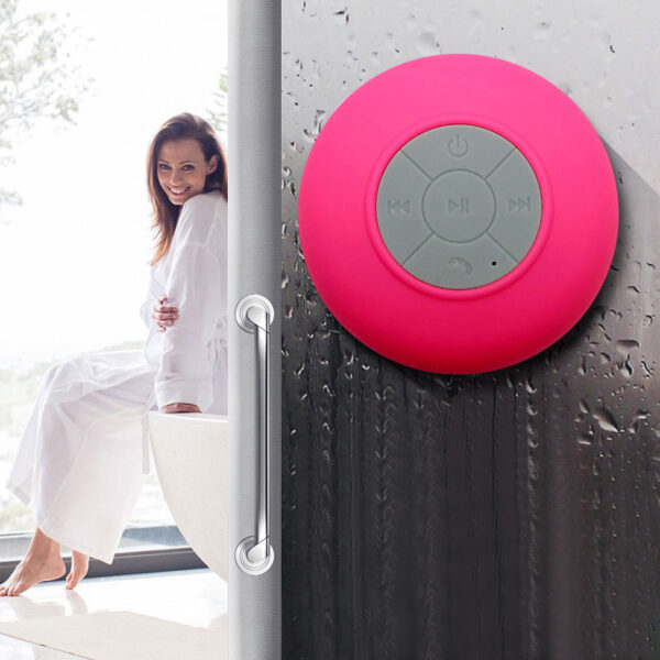 Portable Waterproof Mini Wireless Bluetooth Speaker For Bathroom Car BTE04