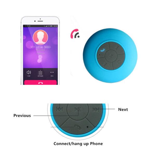 Portable Waterproof Mini Wireless Bluetooth Speaker For Bathroom Car BTE04_7