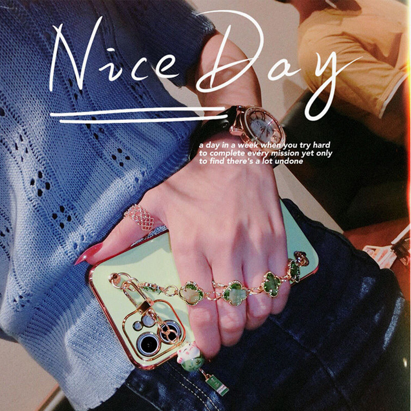 Perfect Diamond iPhone 8 7 6 6S Plus Case With Heart-shaped buckle And Lanyard IP6S13_6