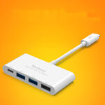 Perfect USB 3.1 USB-C Type-c Hub Splitter For Macbook MBC01