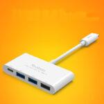 Perfect USB 3.1 USB-C Type-c Hub Splitter For Macbook MBC01