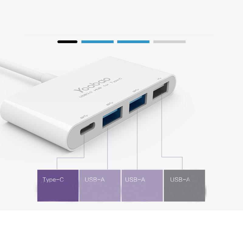 Perfect USB 3.1 USB-C Type-c Hub Splitter For Macbook MBC01_3