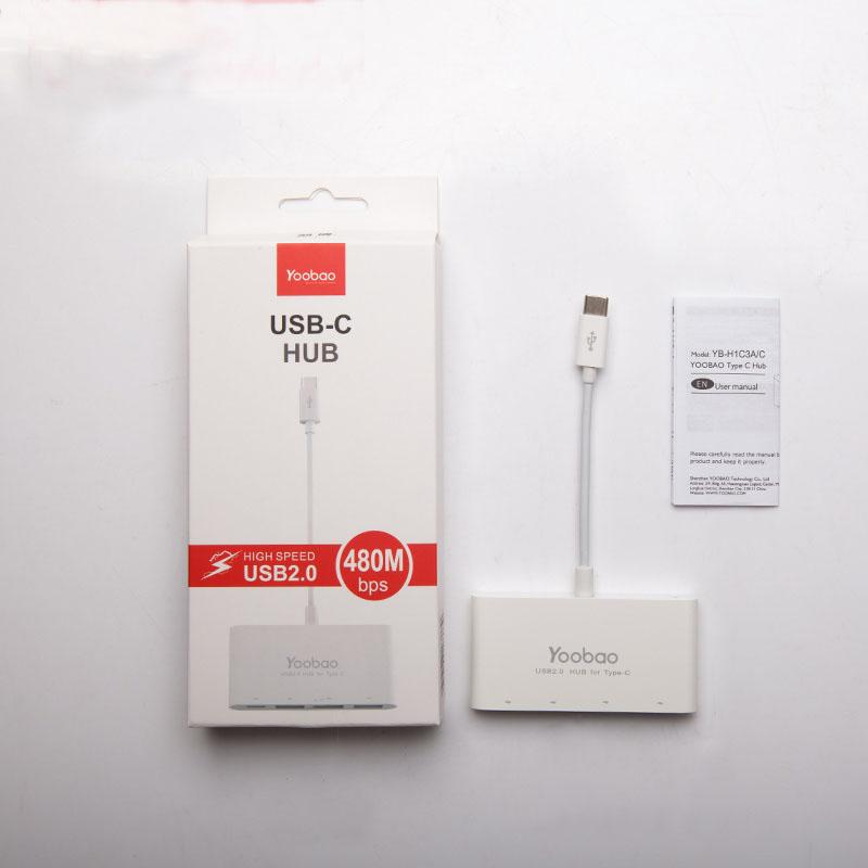 Perfect USB 3.1 USB-C Type-c Hub Splitter For Macbook MBC01_4