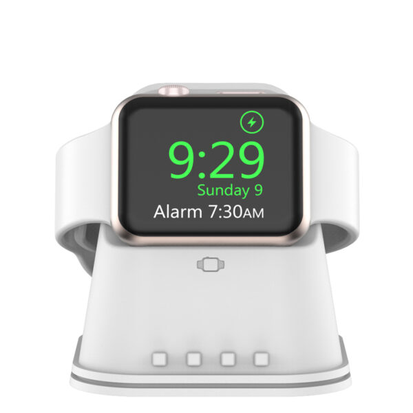 Portable iWatch Charger Stand Dock Bottom Put USB Cable AWB06_2
