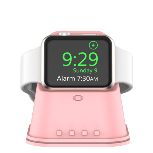 Portable iWatch Charger Stand Dock Bottom Put USB Cable AWB06_4