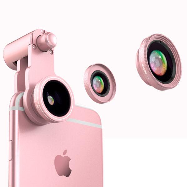 Samsung iPhone Wide Macro Fisheye Angle Lens Universal External Camera PHE03_2