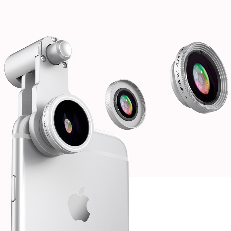 Samsung iPhone Wide Macro Fisheye Angle Lens Universal External Camera PHE03_3