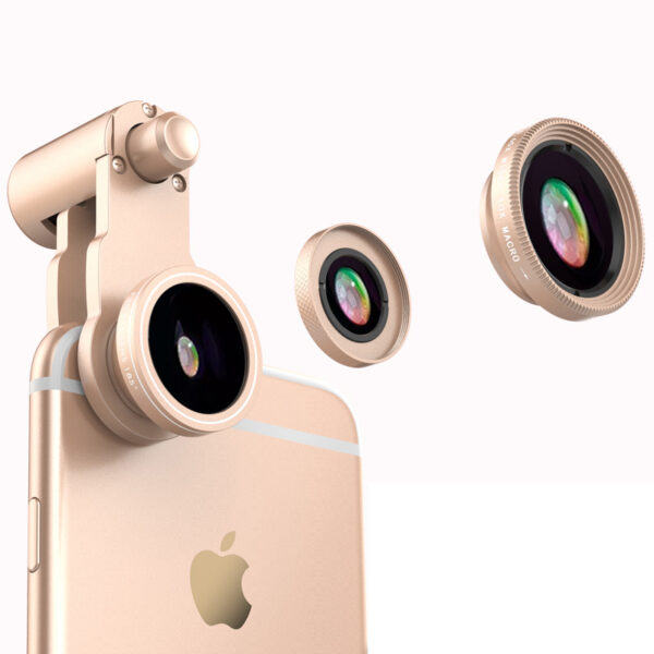 Samsung iPhone Wide Macro Fisheye Angle Lens Universal External Camera PHE03_5