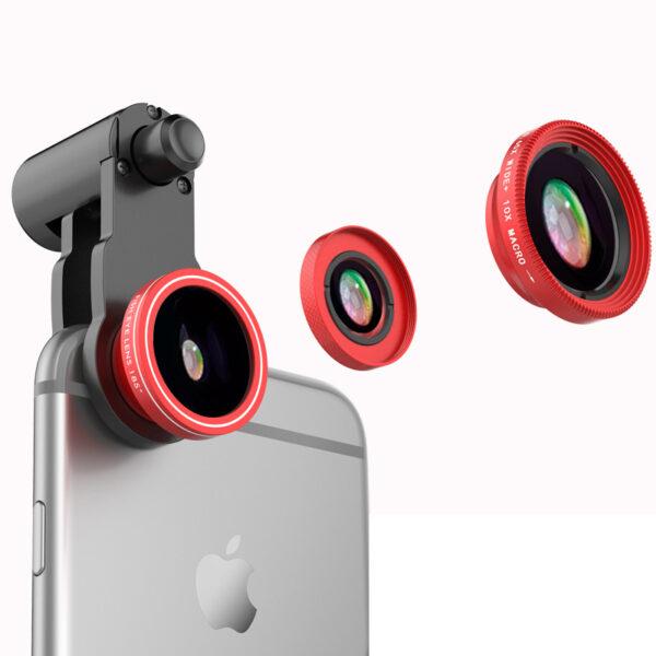 Samsung iPhone Wide Macro Fisheye Angle Lens Universal External Camera PHE03_6