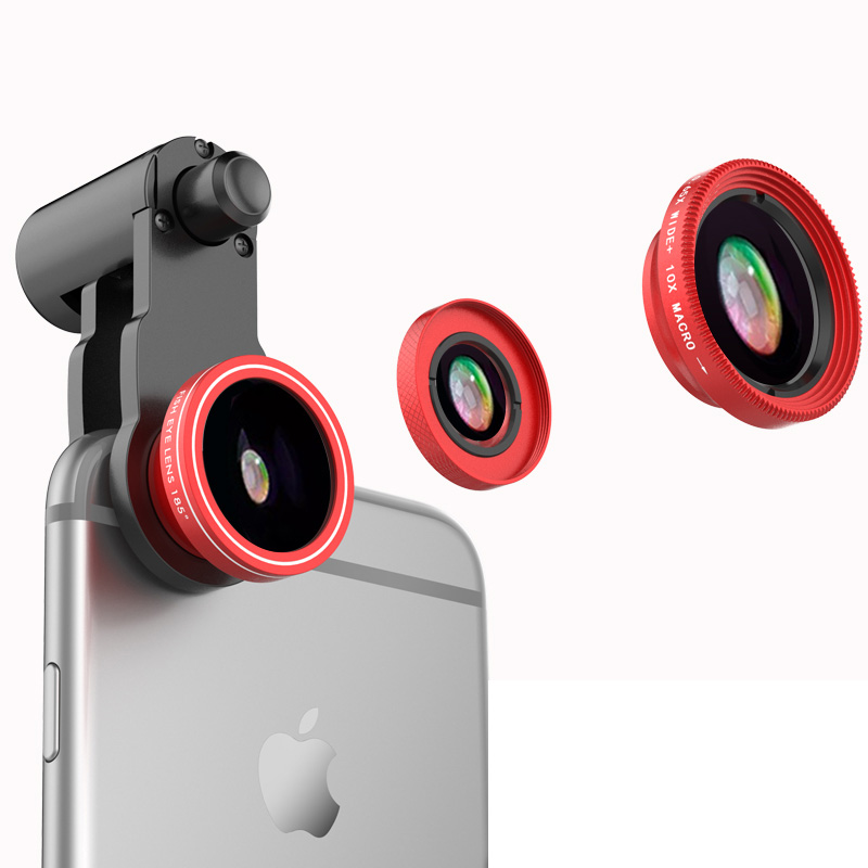 Samsung iPhone Wide Macro Fisheye Angle Lens Universal External Camera PHE03_6