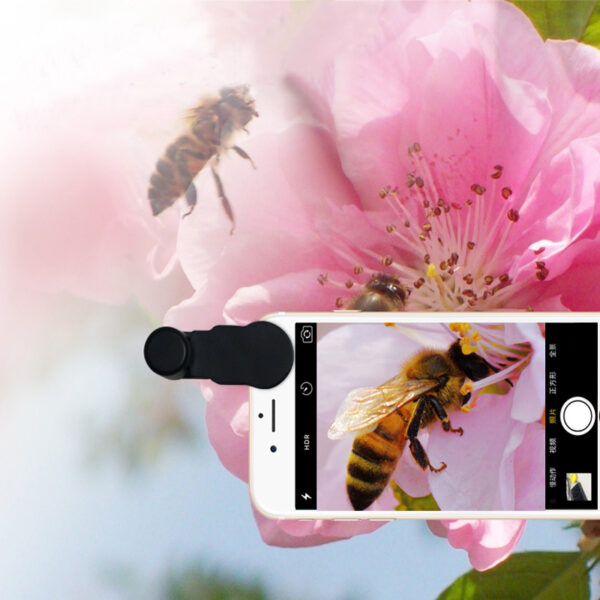 Samsung iPhone Wide Macro Fisheye Angle Lens Universal External Camera PHE03_8