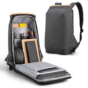 Anti Thief Business Leisure Shoulder Backpack Travel Bag MFB04