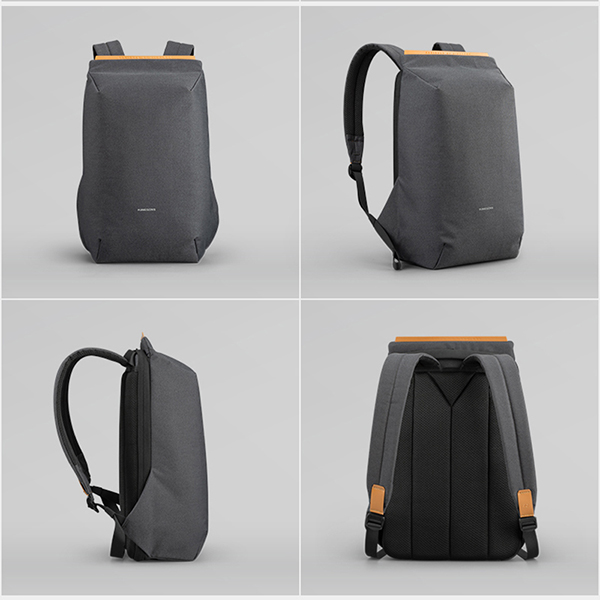 Anti Thief Business Leisure Shoulder Backpack Travel Bag MFB04_4