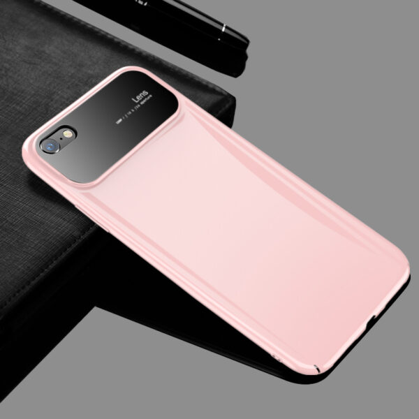 Creative Stereo Glass Head Silicone Case For iPhone 7 8 X Max IPS701_3