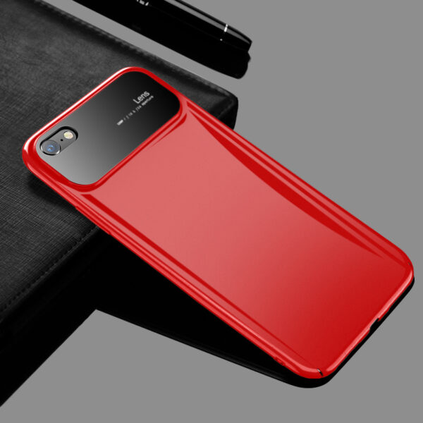 Creative Stereo Glass Head Silicone Case For iPhone 7 8 X Max IPS701_4