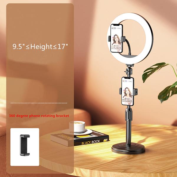 External Fill Light LED Lamp Lens For Phone Selfie Stick PHE05_2
