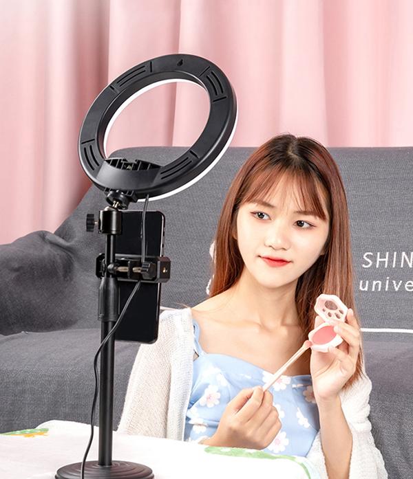 External Fill Light LED Lamp Lens For Phone Selfie Stick PHE05_5