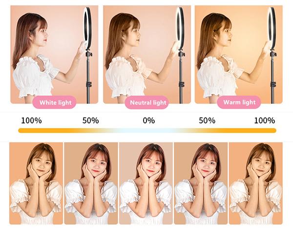 External Fill Light LED Lamp Lens For Phone Selfie Stick PHE05_6