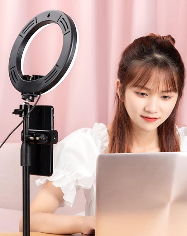 External Fill Light LED Lamp Lens For Phone Selfie Stick PHE05_7