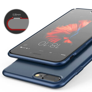 Perfect Blue iPhone X 8 7 6 And Plus With Bear Shape Buckle IPS702
