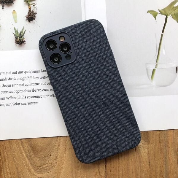 All-inclusive Flannel Case For iPhone 12 Pro Max IPS707_3