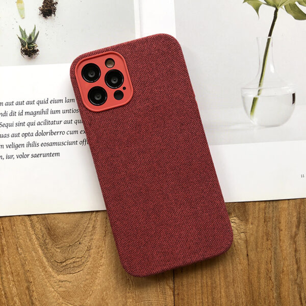 All-inclusive Flannel Case For iPhone 12 Pro Max IPS707_5