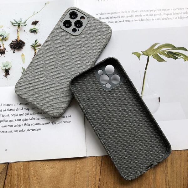All-inclusive Flannel Case For iPhone 12 Pro Max IPS707_6