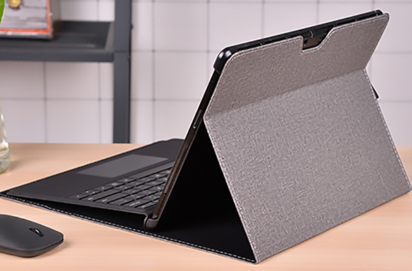 Brown Leather Surface Pro 6 5 4 3 Book Leather Bags Cover SPC07_5