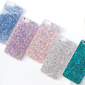 Perfect Glitter iPhone 8 7 6 6S Plus Silicone Cases Covers IPS706