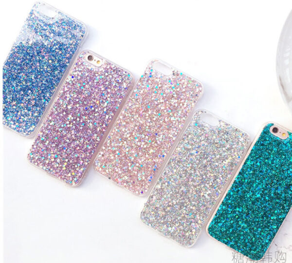 Perfect Glitter iPhone X 8 7 6 6S Plus Silicone Case IPS706