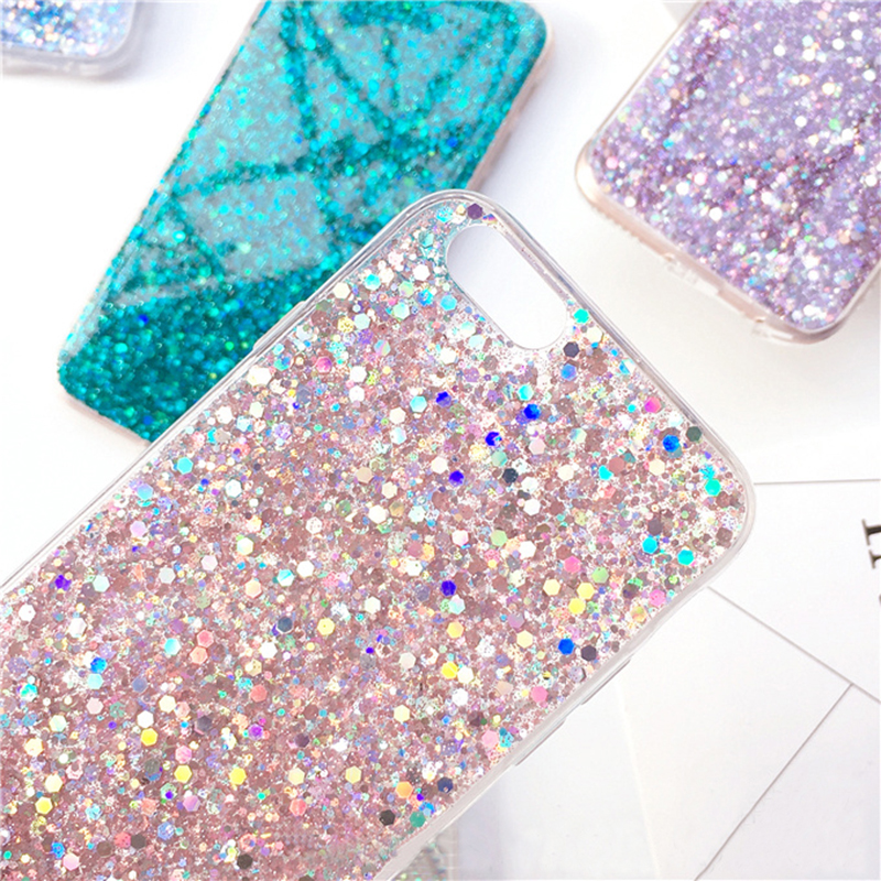 Perfect Glitter iPhone X 8 7 6 6S Plus Silicone Case IPS706_2