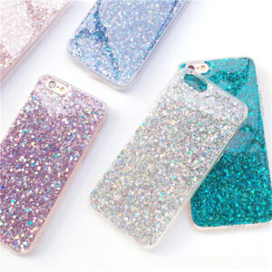 Perfect Glitter iPhone 8 7 6 6S Plus Silicone Cases Covers IPS706_3