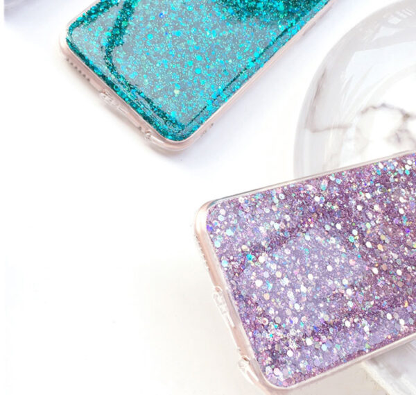 Perfect Glitter iPhone X 8 7 6 6S Plus Silicone Case IPS706_4
