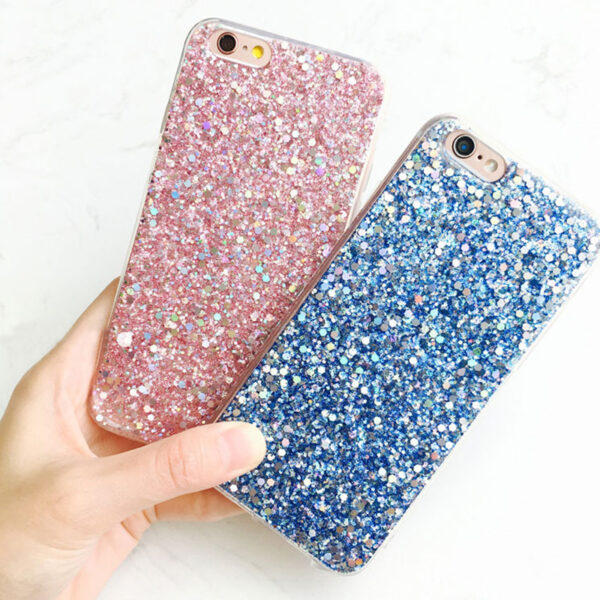 Perfect Glitter iPhone X 8 7 6 6S Plus Silicone Case IPS706_5