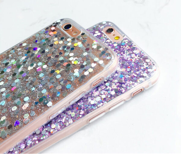 Perfect Glitter iPhone X 8 7 6 6S Plus Silicone Case IPS706_6