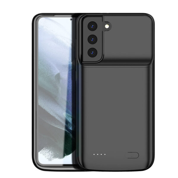 Perfect Black Samsung S21 S20 Note 10 Plus Ultra Charger Case IPGC07