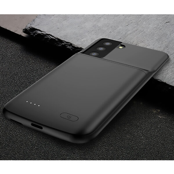 Perfect Black Samsung S21 S20 Note 10 Plus Ultra Charger Case IPGC07_3