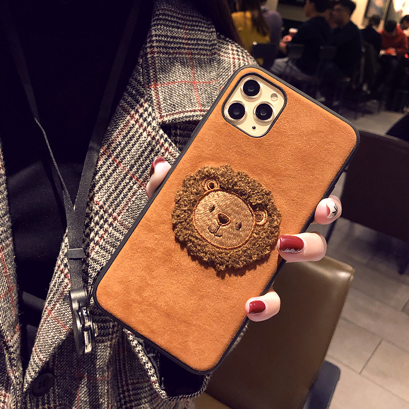 Handmade Wool Hat iPhone 7 6 6S Plus Soft Case Covers IPS708