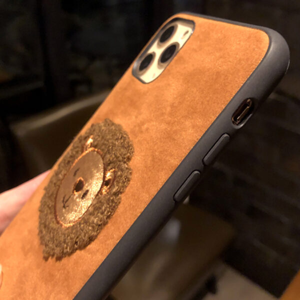 Handmade Wool Hat iPhone 8 7 6 6S Plus Soft Case Covers IPS708_4