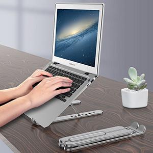 Apple Samsung Laptop Notebook Aluminum Folding Stand IPS06