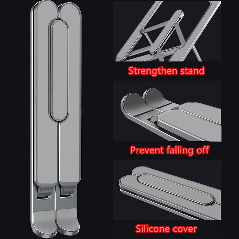 Apple Samsung Laptop Notebook Aluminum Folding Stand IPS06_2