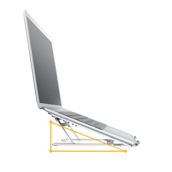 Apple Samsung Laptop Notebook Aluminum Folding Stand IPS06_3
