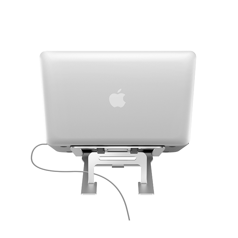 Apple Samsung Laptop Notebook Aluminum Folding Stand IPS06_4
