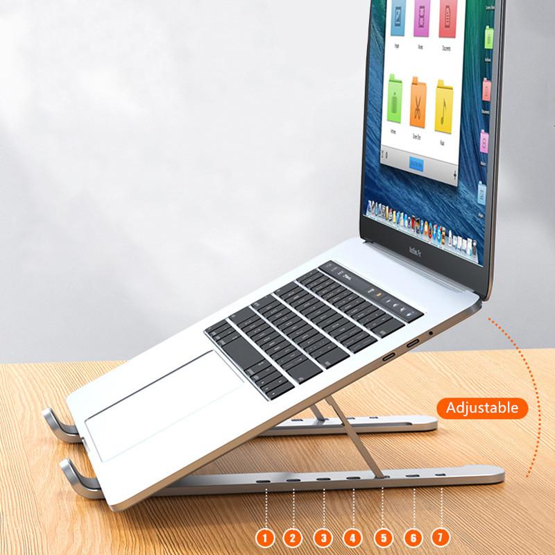 Apple Samsung Laptop Notebook Aluminum Folding Stand IPS06_5