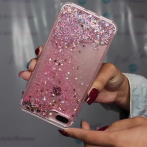 Perfect Glitter Flowing Sequins Cases Cover For iPhone 8 7 6 6S Plus IP6S15_12