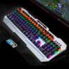 Cool Mechanical Keyboard With Colorful Light For Desktop PC PKB07