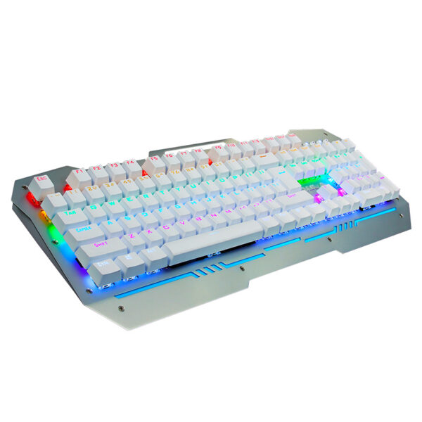 Cool Mechanical Keyboard With Colorful Light For Desktop PC PKB07_5
