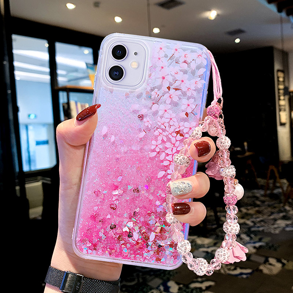 Perfect Glitter Flowing Sequins Cases Cover For iPhone 8 7 6 6S Plus IP6S15