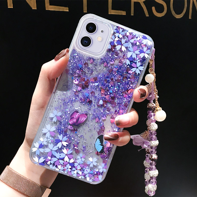 Perfect Glitter Flowing Sequins Cases Cover For iPhone 7 6 6S Plus IP6S15_2